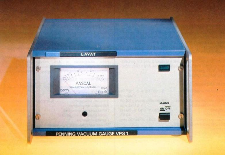 Měrka vakuometru Penning VPG 1