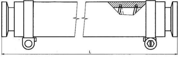 Plastová hadice KF 40/ 1500